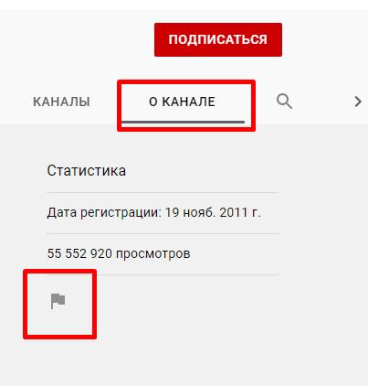Блокировка пользователей на Ютуб